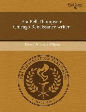 Era Bell Thompson: Chicago Renaissance Writer