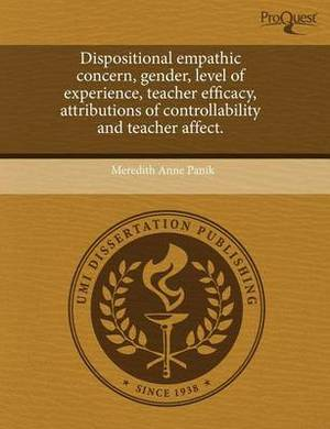 Dispositional Empathic Concern