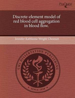 Discrete-Element Model of Red Blood Cell Aggregation in Blood Flow