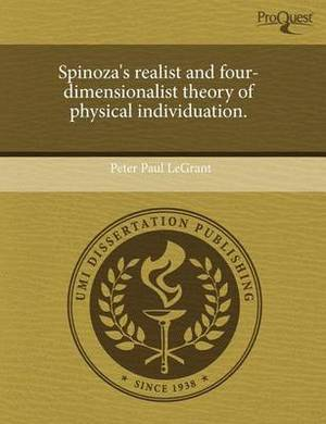 Spinoza's Realist and Four-Dimensionalist Theory of Physical Individuation