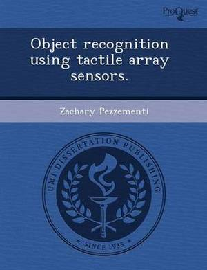 Object Recognition Using Tactile Array Sensors