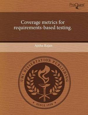 Coverage Metrics for Requirements-Based Testing