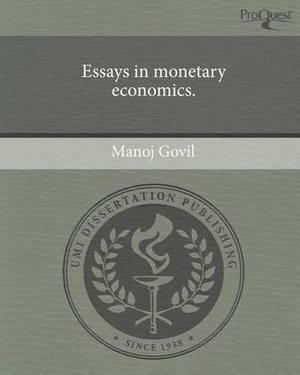 Essays in Monetary Economics
