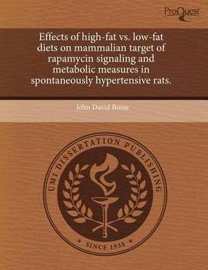 Effects of High-Fat vs