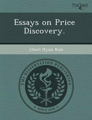 Essays on Price Discovery