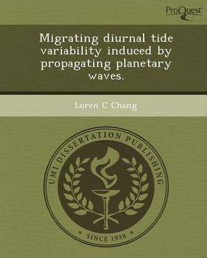 Migrating Diurnal Tide Variability Induced by Propagating Planetary Waves