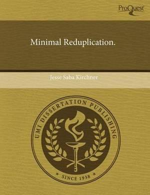 Minimal Reduplication