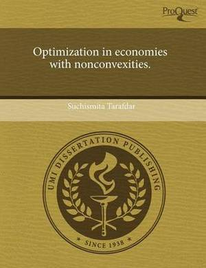 Optimization in Economies with Nonconvexities
