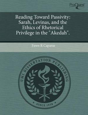 Reading Toward Passivity: Sarah