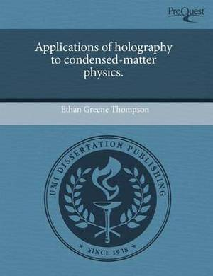 Applications of Holography to Condensed-Matter Physics