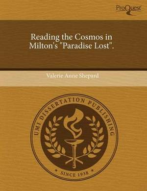 Reading the Cosmos in Milton's Paradise Lost