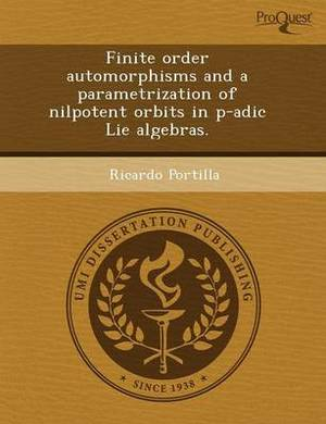 Finite Order Automorphisms and a Parametrization of Nilpotent Orbits in P-Adic Lie Algebras