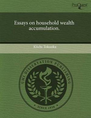 Essays on Household Wealth Accumulation