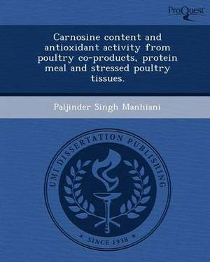 Carnosine Content and Antioxidant Activity from Poultry Co-Products
