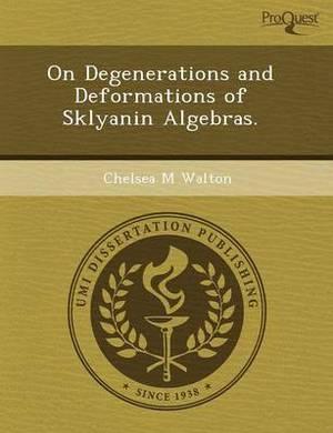 On Degenerations and Deformations of Sklyanin Algebras