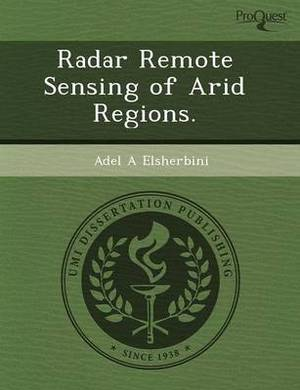 Radar Remote Sensing of Arid Regions
