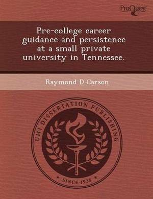 Pre-College Career Guidance and Persistence at a Small Private University in Tennessee