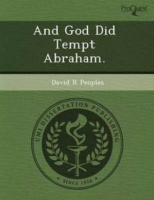 And God Did Tempt Abraham