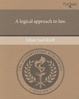 A Logical Approach to Law