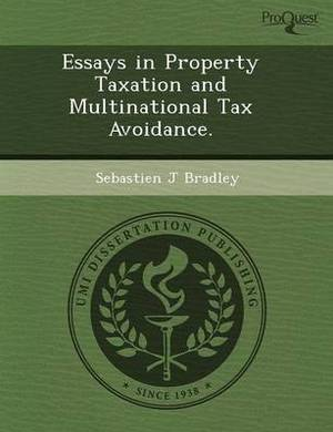 Essays in Property Taxation and Multinational Tax Avoidance