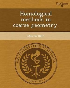 Homological Methods in Coarse Geometry