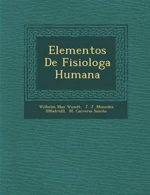 Elementos de Fisiolog a Humana