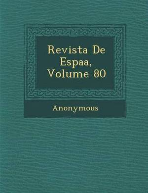Revista de Espa A, Volume 80
