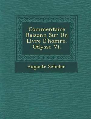 Commentaire Raisonn Sur Un Livre D'Hom Re, Odyss E VI.