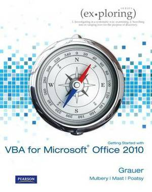 Getting Started with VBA for Microsoft Office 2010