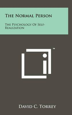 The Normal Person: The Psychology of Self-Realization