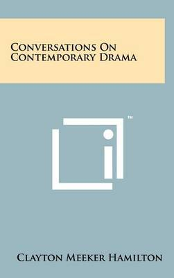 Conversations on Contemporary Drama