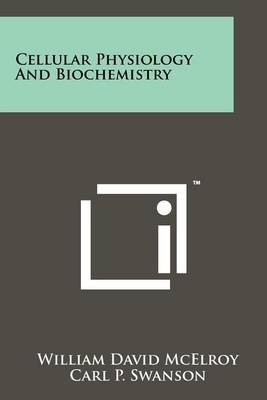 Cellular Physiology and Biochemistry