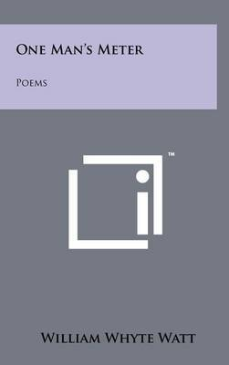 One Man's Meter: Poems