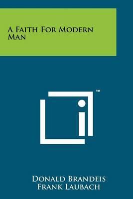 A Faith for Modern Man
