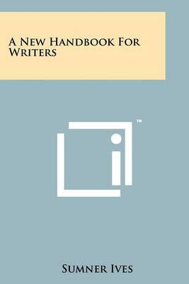 A New Handbook for Writers