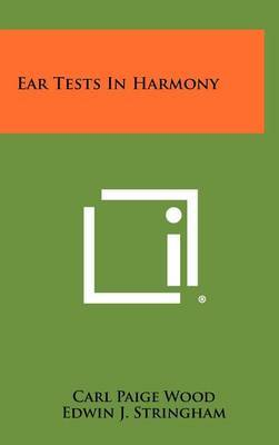 Ear Tests in Harmony