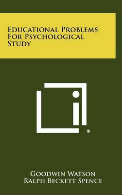 Educational Problems for Psychological Study
