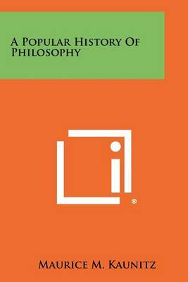 A Popular History of Philosophy