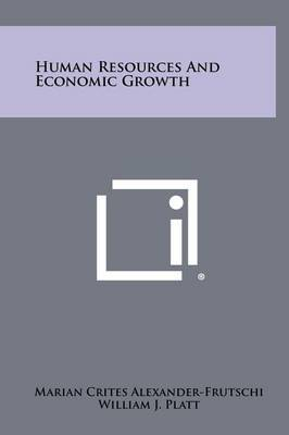 Human Resources and Economic Growth