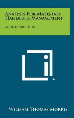 Analysis for Materials Handling Management: An Introduction