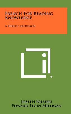 French for Reading Knowledge: A Direct Approach