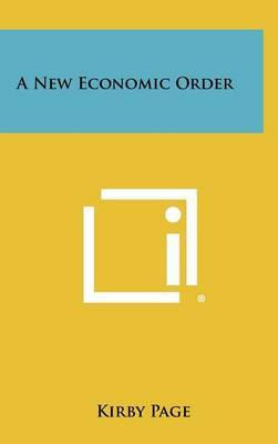A New Economic Order