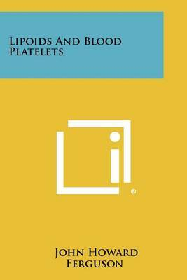 Lipoids and Blood Platelets
