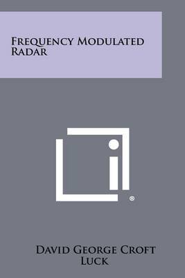 Frequency Modulated Radar