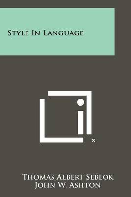Style in Language