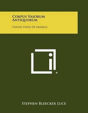 Corpus Vasorum Antiquorum: United States of America