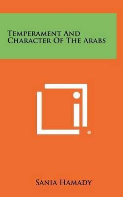 Temperament and Character of the Arabs