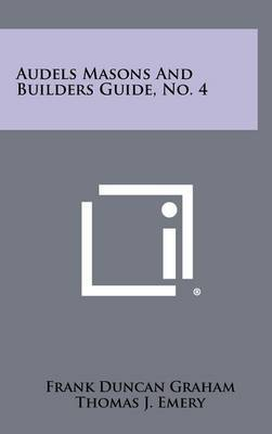 Audels Masons and Builders Guide, No. 4