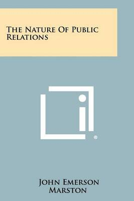 The Nature of Public Relations