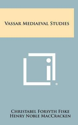 Vassar Mediaeval Studies